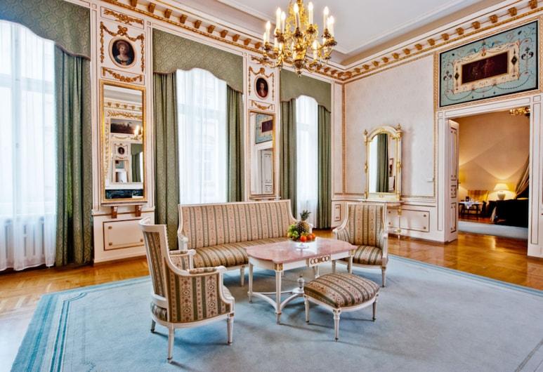 Grand Hotel, Cracovia, Area soggiorno