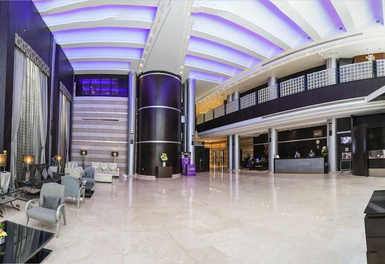 The Juffair Grand Hotel, Manama, Salón en el lobby