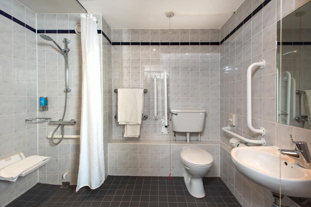 Room, 1 Katil Kelamin (Double), Accessible, Non Smoking (Wheelchair) - Bilik mandi