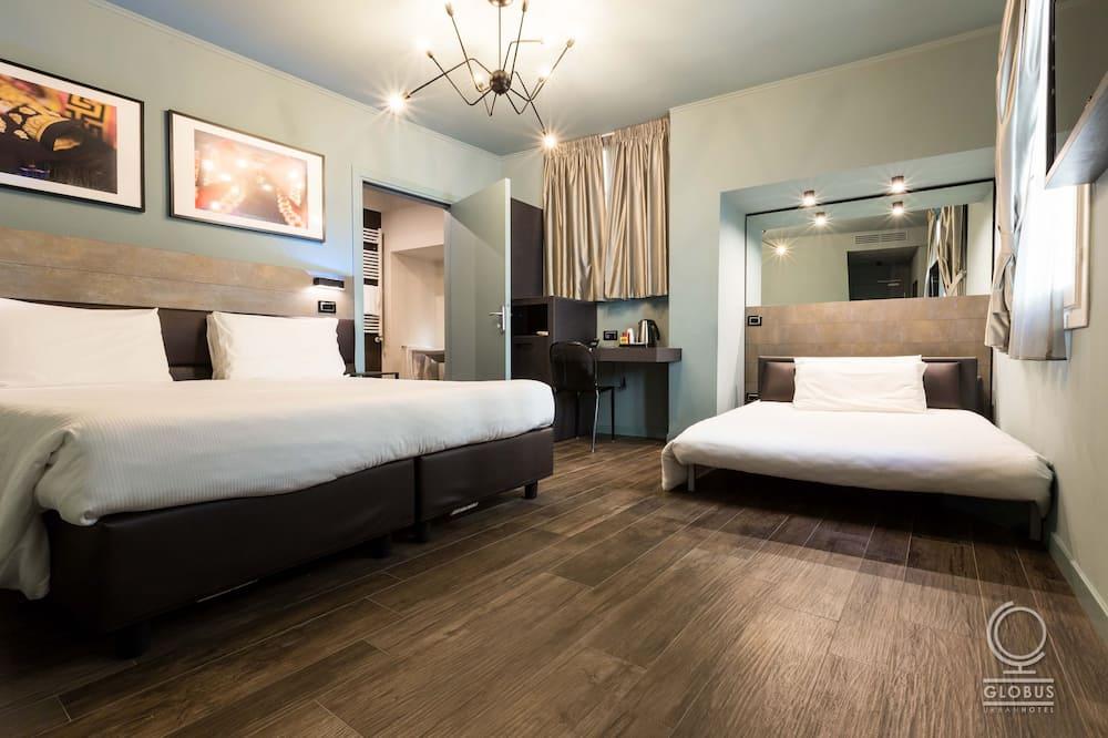 חדר סופריור לשלושה (Family) - חדר אורחים