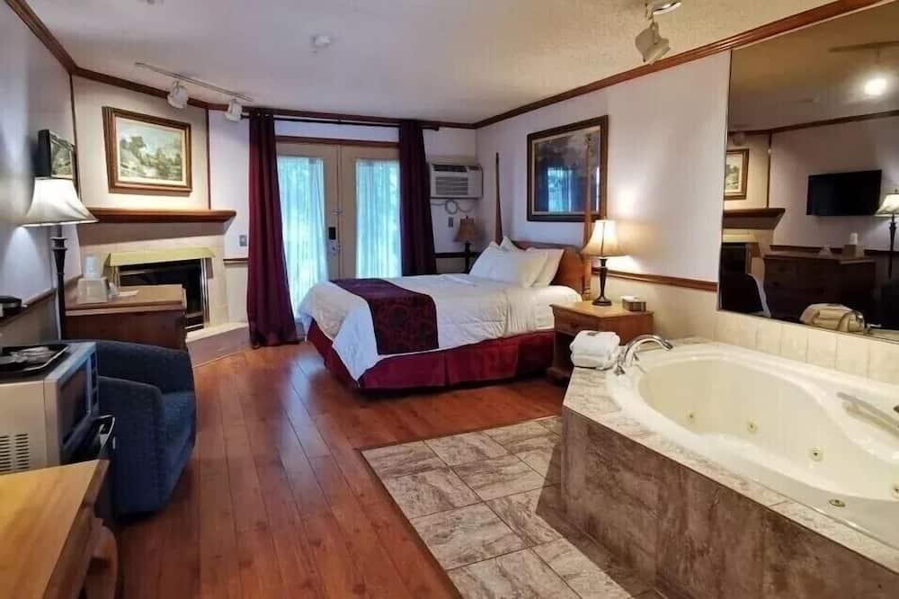 ห้องดีลักซ์, เตียงควีนไซส์ 1 เตียง, อ่างน้ำวน (No Pets Allowed) - ห้องพัก