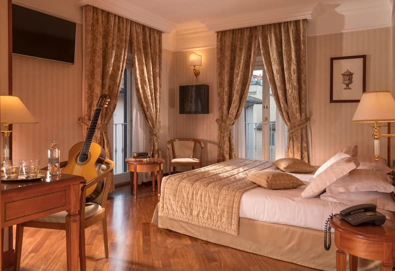 Albergo Ottocento, רומא, חדר דה-לוקס זוגי, חדר אורחים