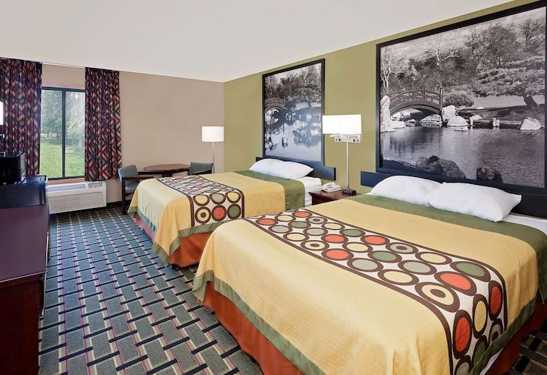 Econo Lodge, Kanton, Standard szoba, 2 queen (nagyméretű) franciaágy, nemdohányzó, Vendégszoba