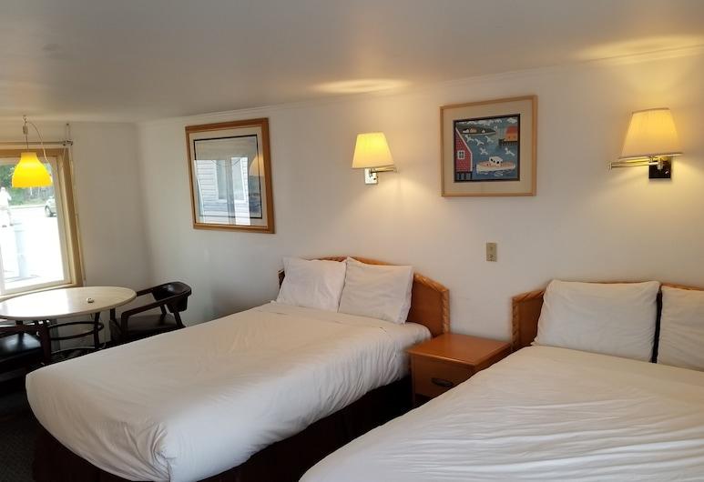 Americas Best Value Inn & Suites Hyannis Cape Cod, Hyannis, Habitación Deluxe, 2 camas matrimoniales, Habitación