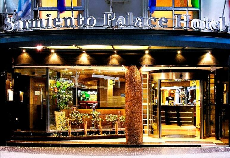 Sarmiento Palace Hotel, Buenos Aires, Hotelfassade