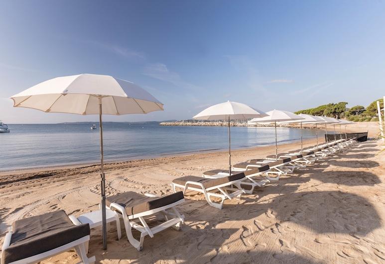 皮埃爾法國梧桐假日酒店, 聖馬克西姆, 海灘