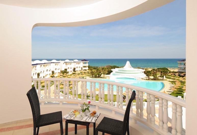 Golden Tulip Taj Sultan Resort, Хаммамет, Полулюкс, вид на море, Номер