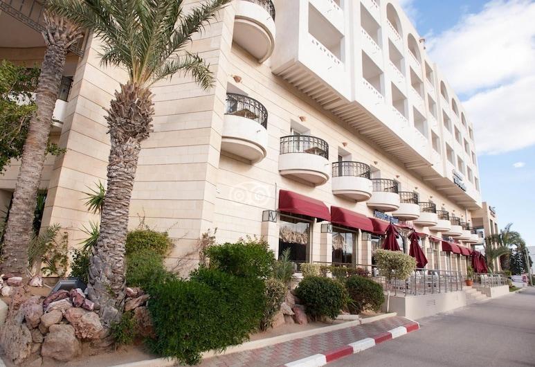 El Kantaoui Center and Spa, Port El Kantaoui, Hotellets front