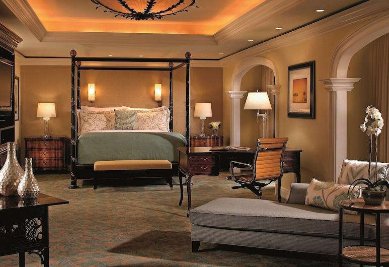 The Ritz-Carlton Orlando, Grande Lakes, Orlando, Apartament typu Executive Suite, Łóżko king, nad jeziorem (Lakefront), Pokój