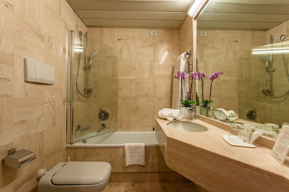 Pokoj typu Comfort, 2 jednolůžka, nekuřácký - Koupelna