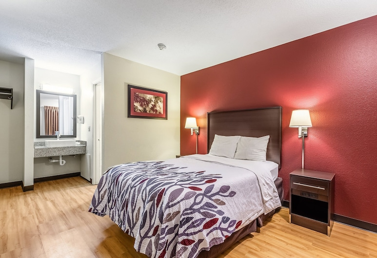 Red Roof Inn Scottsburg, Scottsburg, Deluxe Room, 1 Double Bed, Non Smoking, Guest Room
