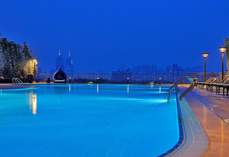 上海巴黎春天新世界大酒店, 上海市, 室外泳池