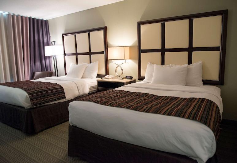 Country Inn & Suites by Radisson, Effingham, IL, Effingham, Habitación, 2 camas Queen size, para no fumadores, Habitación