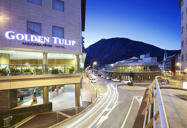 Golden Tulip Andorra Fènix, Εσκάλδες-Ενγκορντάν, Πρόσοψη ξενοδοχείου