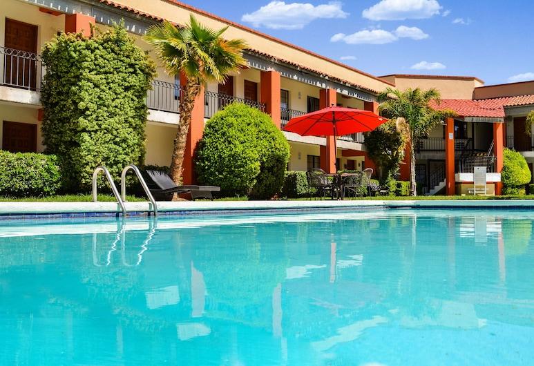 Hotel Colonial Juarez, Ciudad Juarez, Venkovní bazén