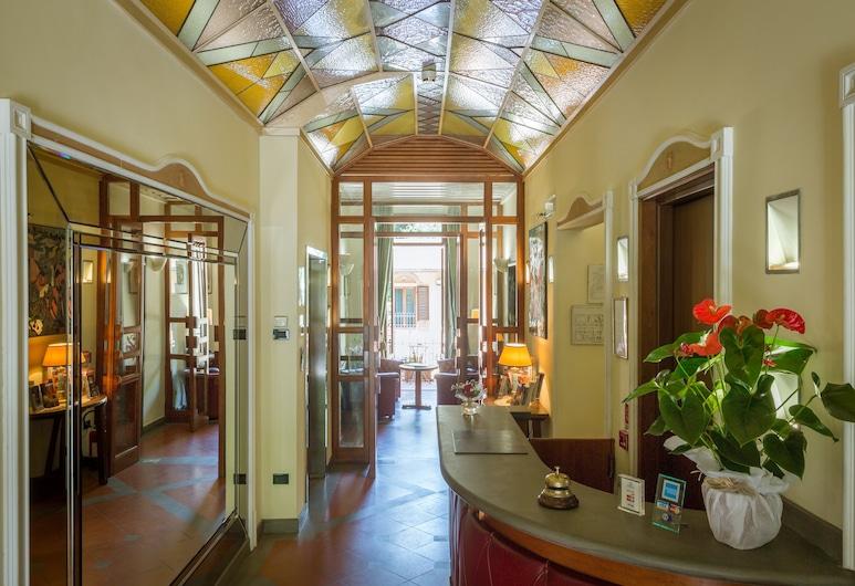 Hotel Panama, Florencija, Registratūra