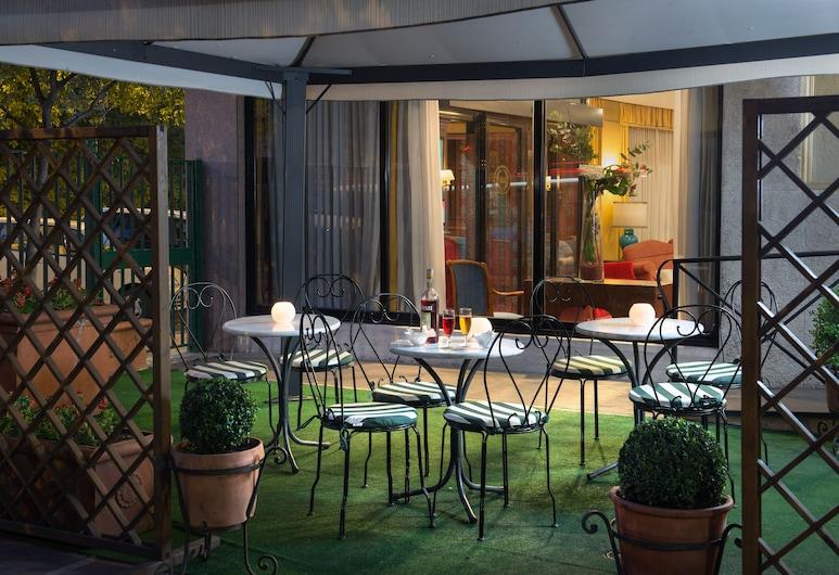 Hotel Santa Costanza, Róma, Kültéri étkezés