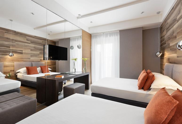 Ambienthotels Perù, Rimini, Deluxe Triple Room, Guest Room