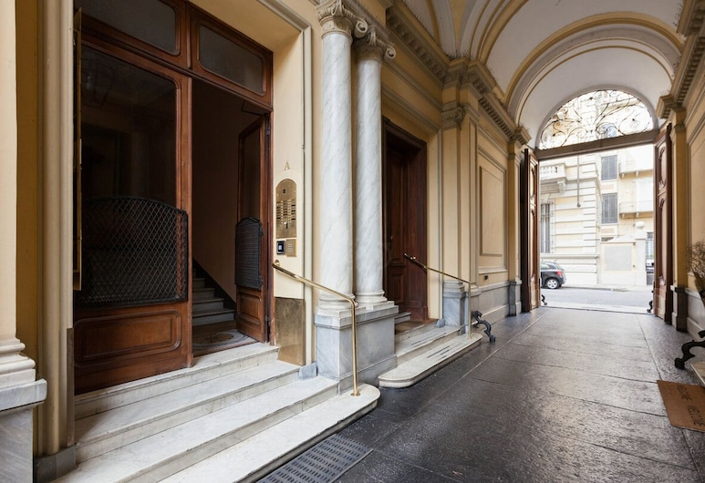 Artuà & Solferino, Torino, Ingresso hotel
