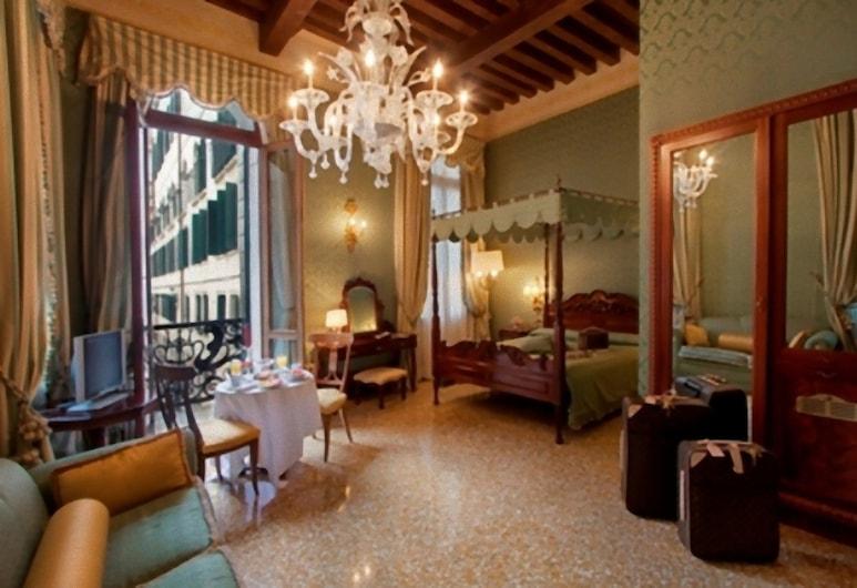 Hotel Al ponte dei sospiri, Veneza, Suíte júnior, Vista para o canal, Vista (do quarto)