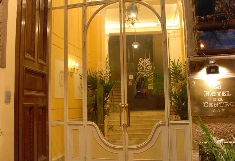 Hotel del Centro, Palermo, Hoteleingang