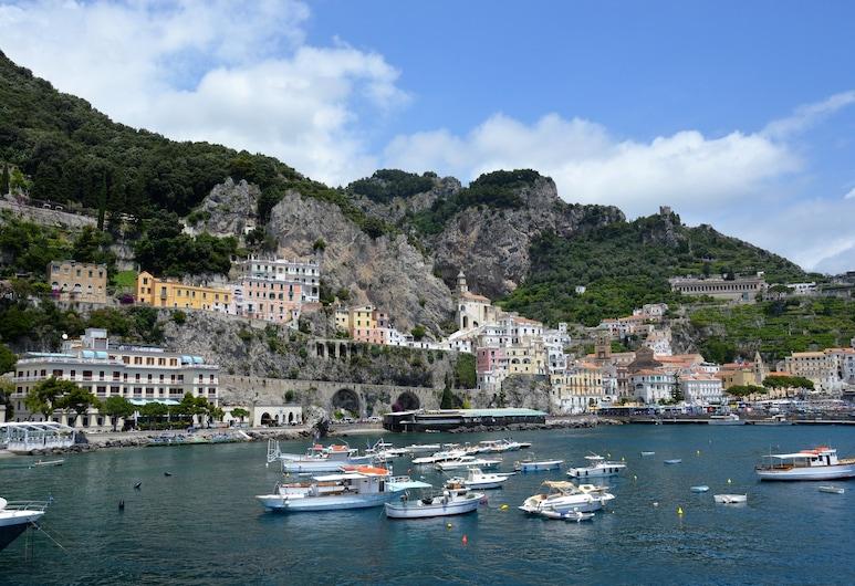 Hotel La Bussola, Amalfi, View from Hotel