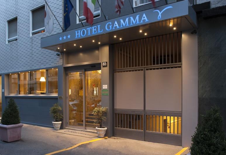Hotel Gamma, Milão, Fachada do Hotel - Tarde/Noite