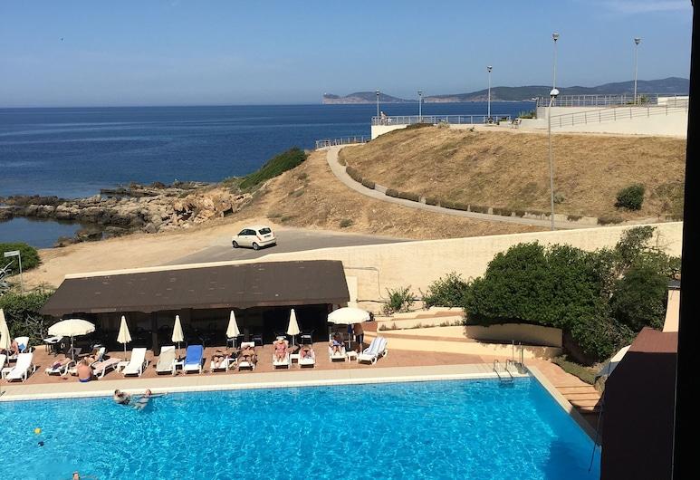 Hotel Calabona, Alghero, Blick vom Hotel