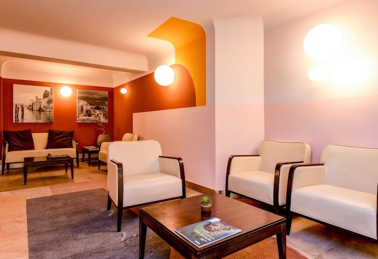 Hotel City, Desenzano del Garda, Sitteområde i lobbyen