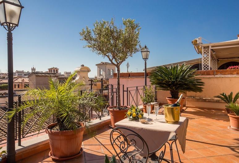 Hotel La Lumiere di Piazza di Spagna, Roma, Terrazza/Patio