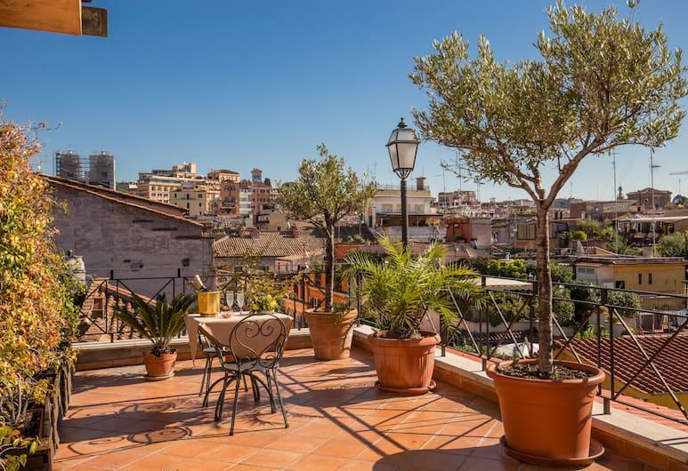 Hotel La Lumiere di Piazza di Spagna, Rim, Terasa/trijem