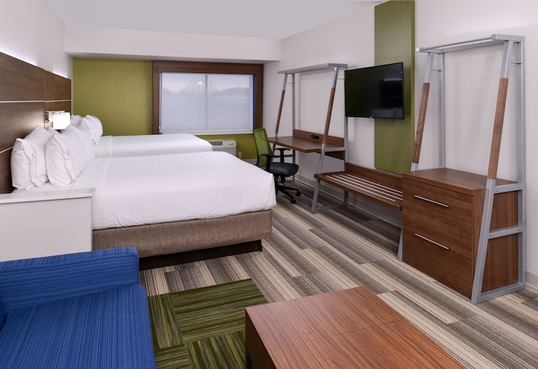 Holiday Inn Express & Suites Raleigh NE - Medical Ctr Area, Raleigh, Room, 2 Queen Beds, Non Smoking, Guest Room