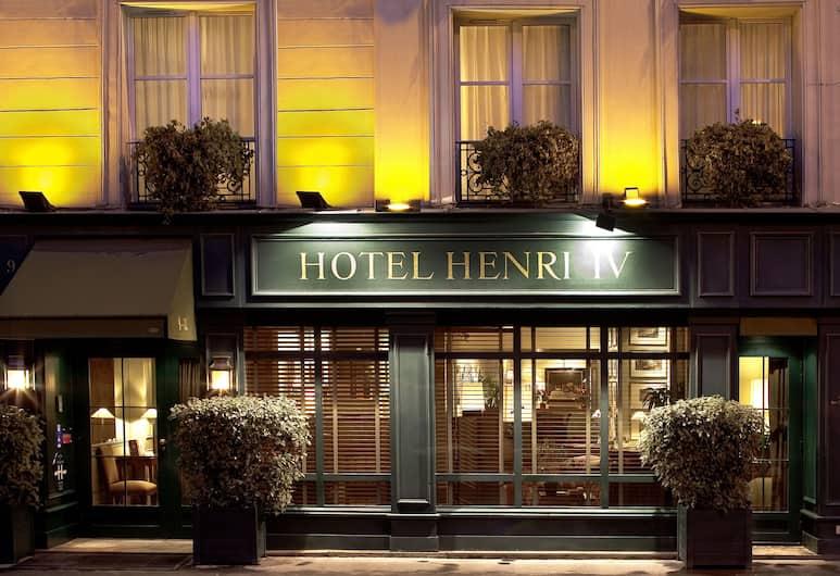 亨利四世左岸酒店, 巴黎, 酒店入口 - 夜景