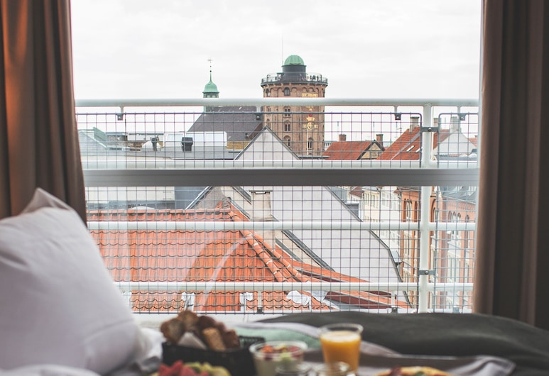 Skt. Petri, קופנהגן, חדר דה-לוקס, מרפסת, נוף לעיר, חדר אורחים