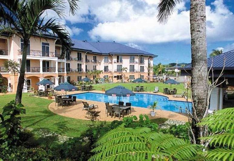 Tradewinds Hotel, Ottoville, Teras/Patio