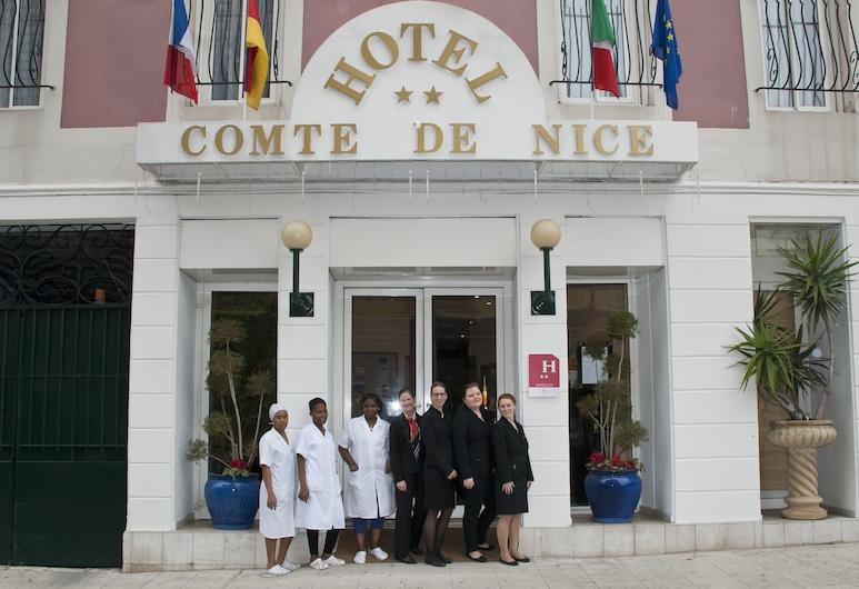 Comte De Nice, Nice, Hotel Entrance