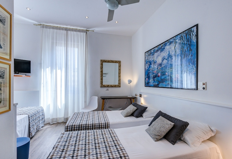 Hotel Bernina, Mediolan, Pokój dla 3 osób standardowy, 3 łóżka pojedyncze, Pokój