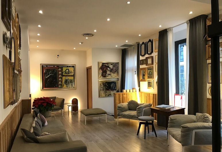 Hotel Bernina, Milano, Lobi