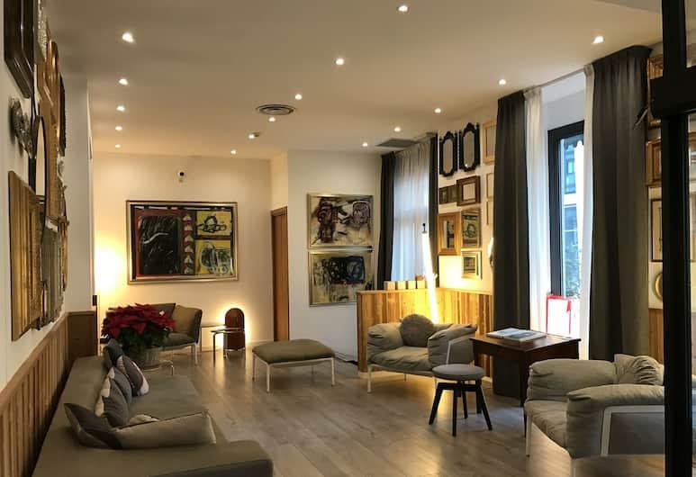 Hotel Bernina, Mailand, Lobby