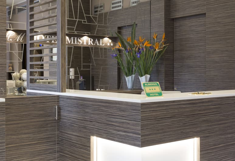 Hotel Mistral, Milano, Ingresso hotel