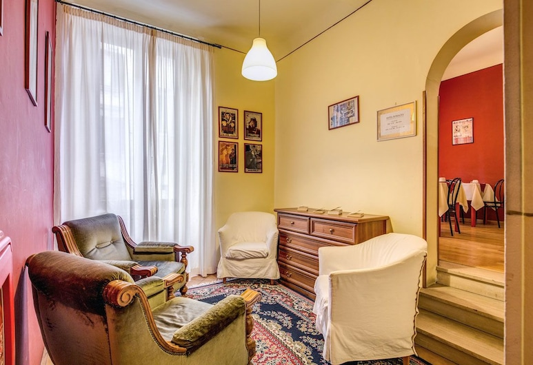 Hotel Romagna, Φλωρεντία, Καθιστικό στο λόμπι