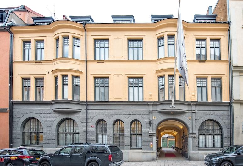 Unique Hotel, Sztokholm, Fasada hotelu