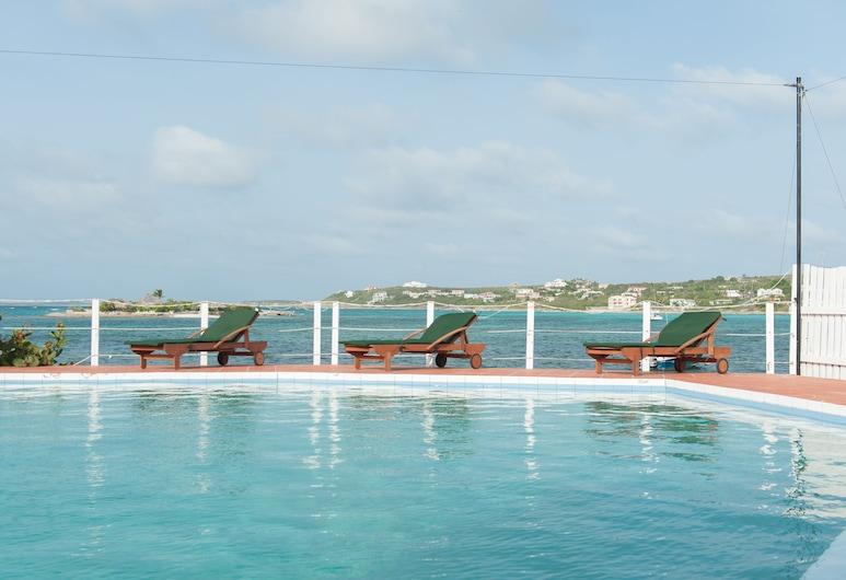 Arawak Beach Inn, Island Harbour, Välibassein