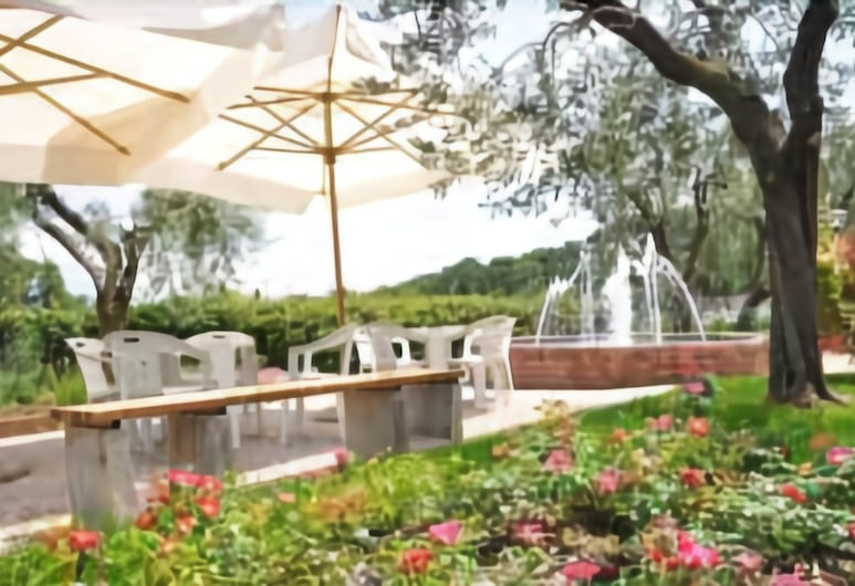 Hotel Ristorante Panoramica, Salò, Κήπος