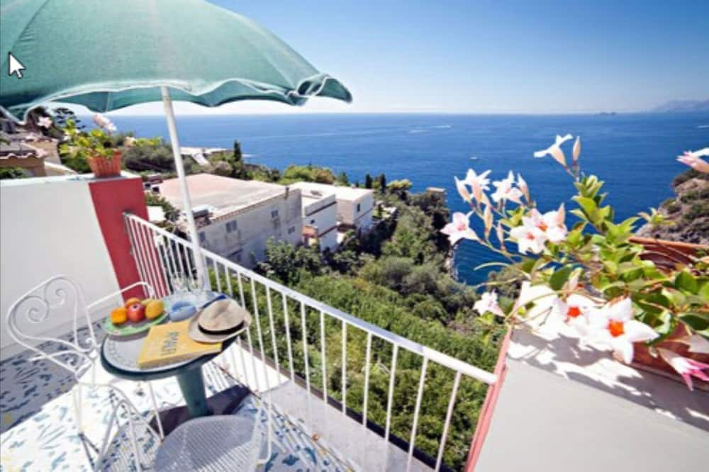 Trīsvietīgs numurs, skats uz jūru - Balkons