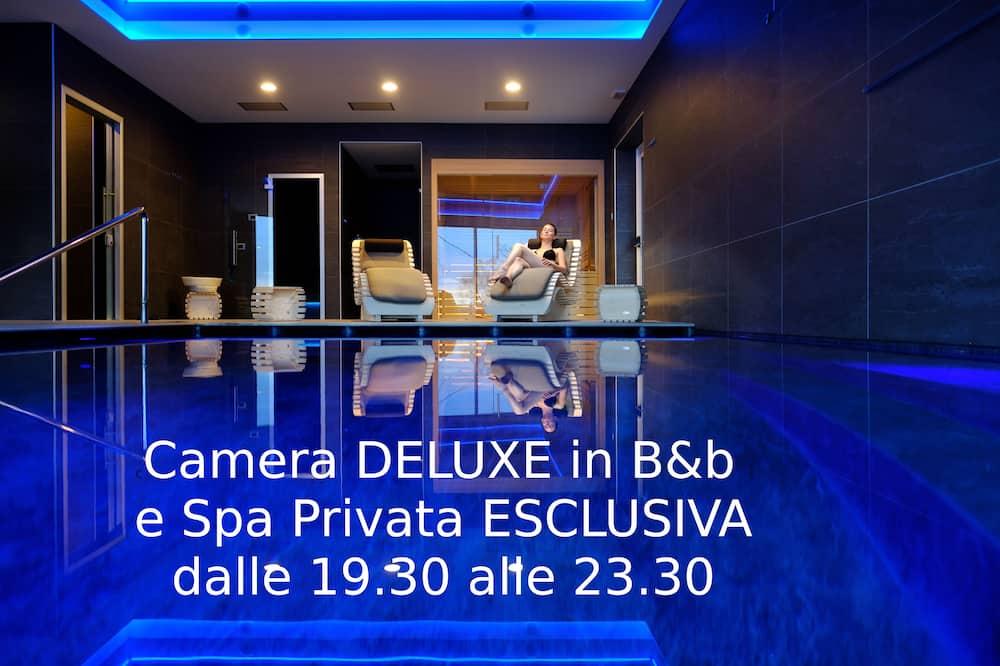 Deluxe Δίκλινο Δωμάτιο (Double), 1 Υπνοδωμάτιο, Θέα στο Βουνό - Ιδιωτική πισίνα