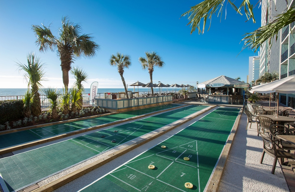 beachfront hotel with activties
