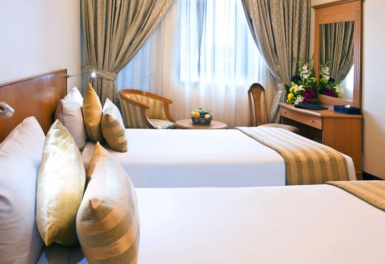 랜드마크 플라자 호텔, 두바이, 더블룸 또는 트윈룸, 객실