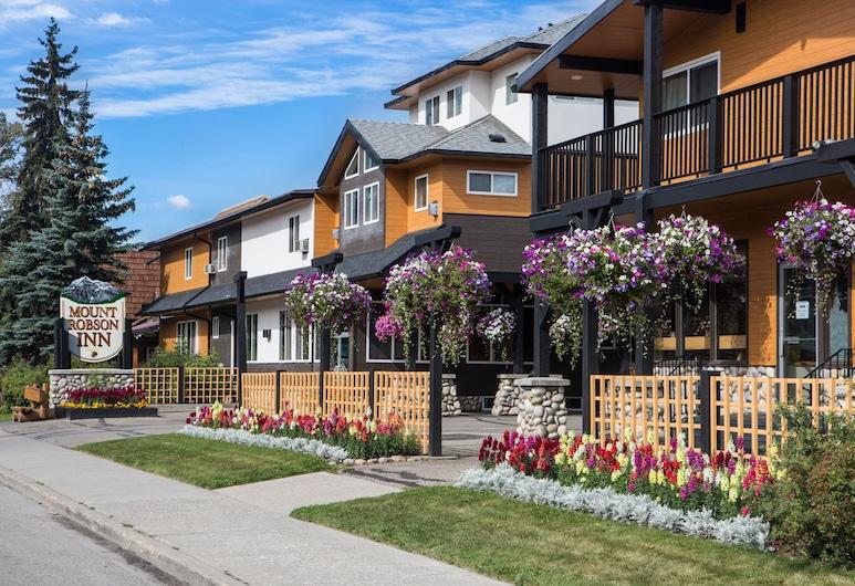 Mount Robson Inn, Jasper, Fachada del hotel