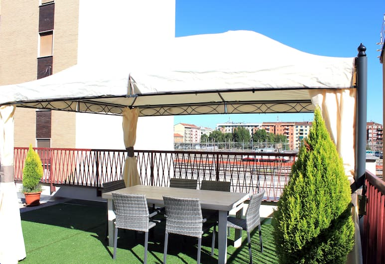 Terminal Hotel, Mailand, Terrasse/Patio